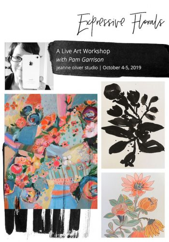 Expressive Florals with Pam Garrison