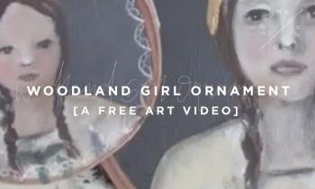 Woodland Girl Ornament